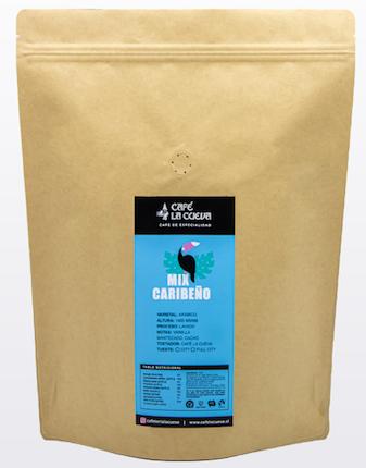 """Café en grano """"mix caribeño"""" Bolsa de 1kg"""