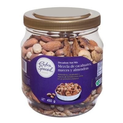 Mix de semillas cacahuates nueces y almendras