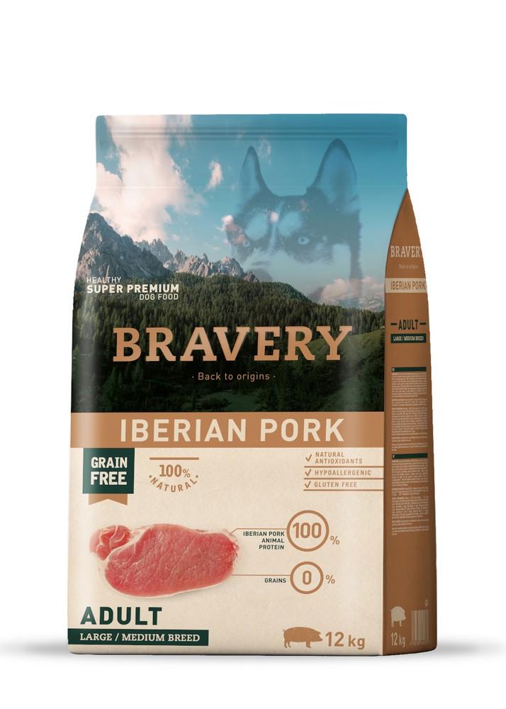 Iberian pork adulto razas medianas y grandes