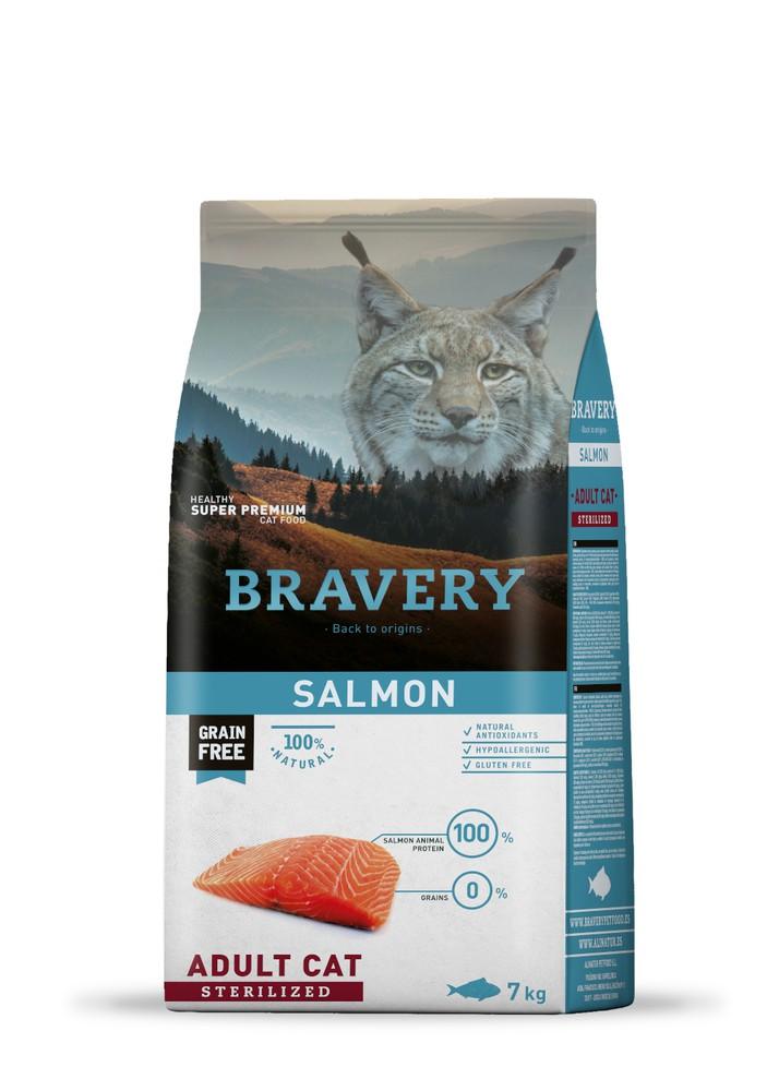 Salmón adulto gato esterilizado
