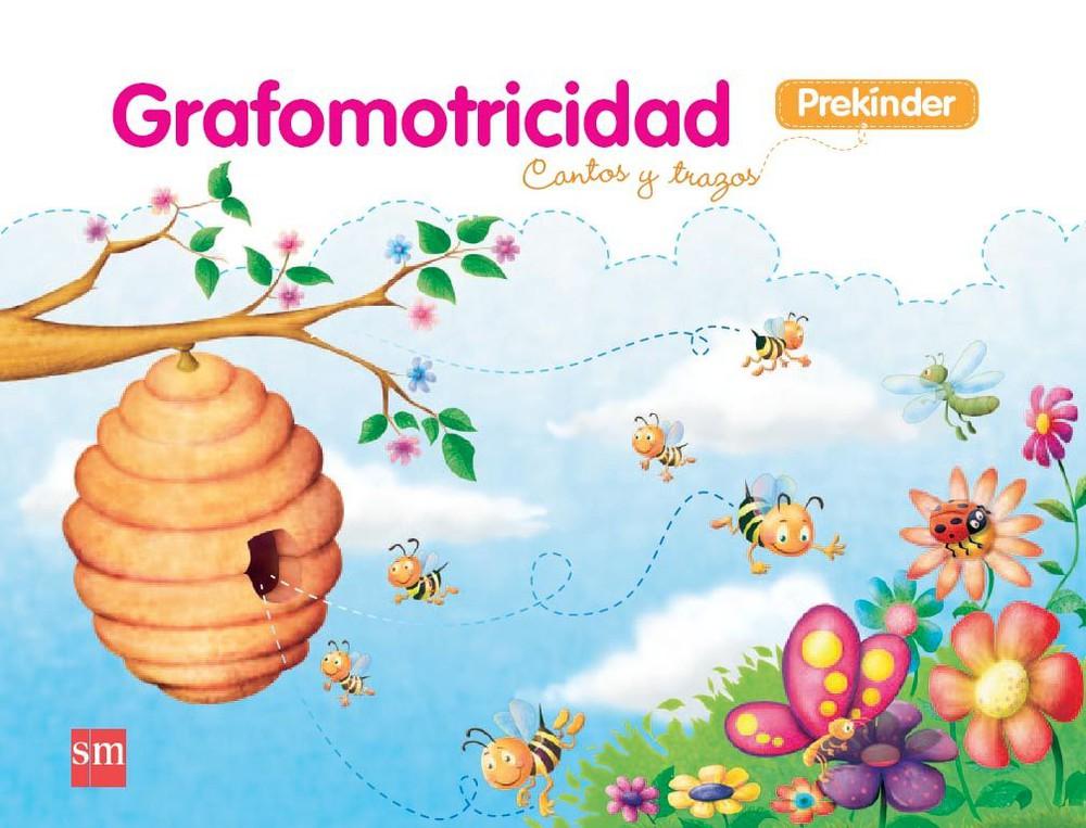Grafomotricidad: Cantos y trazos (prekínder) Encuadernación espiral