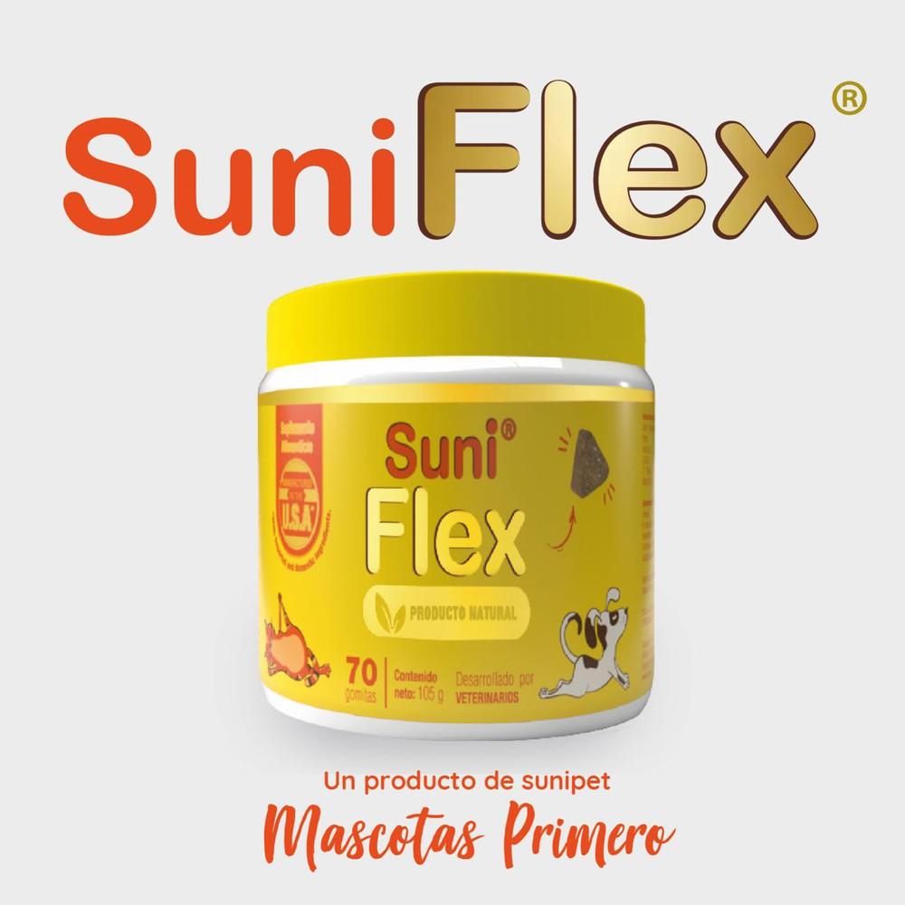 Suniflex 70 gomitas saborizadas.