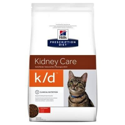 Hills alimento para gato k/d kidney care 3,8 kg