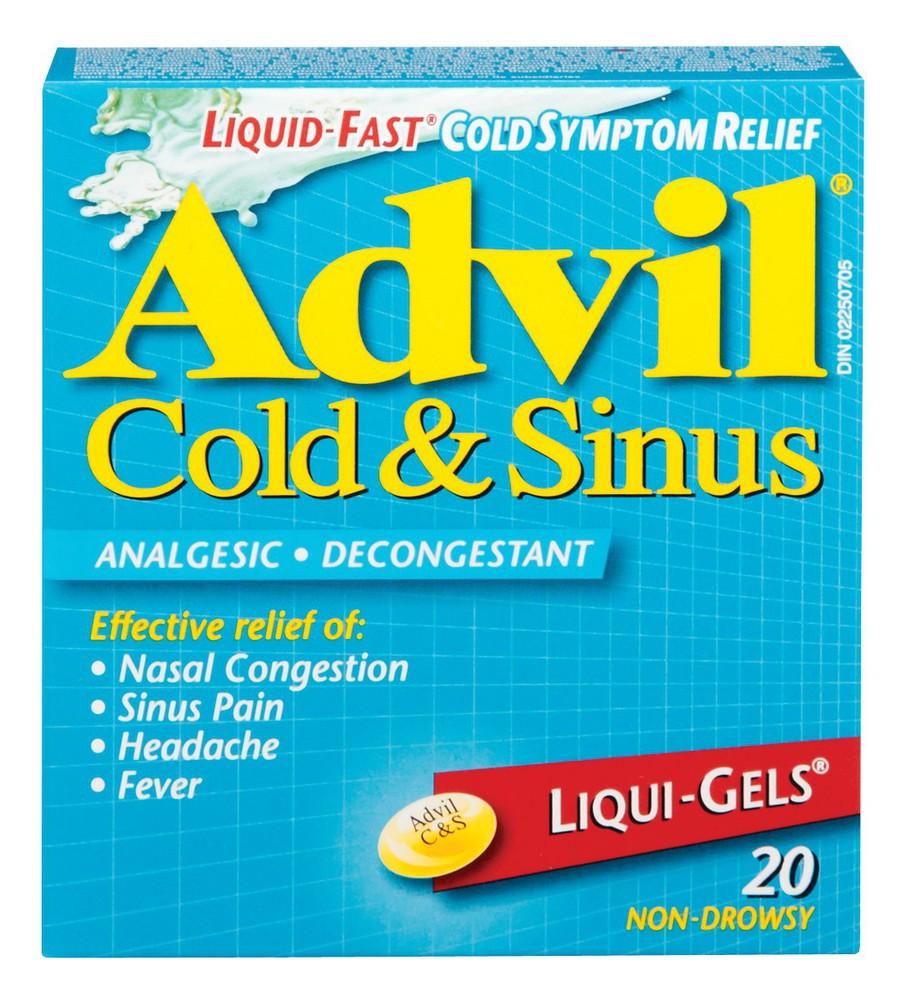 Cold & Sinus Liqui Gels