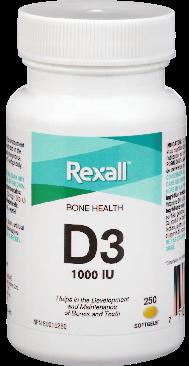Vitamin D 1000Iu Softgels