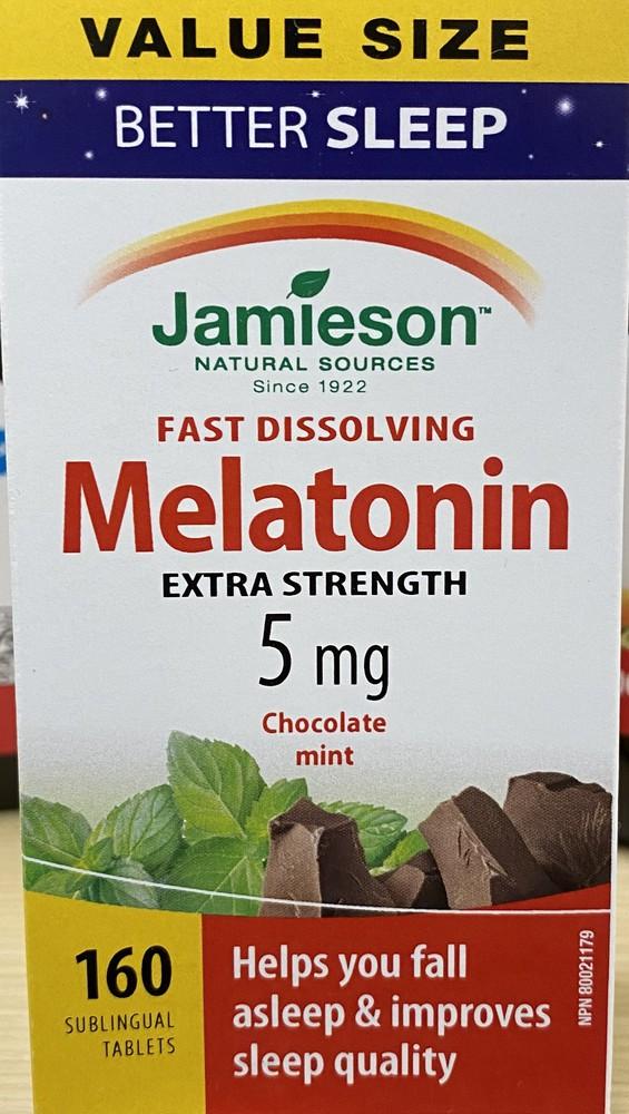 Jamieson Melatonin Sublingual Tb