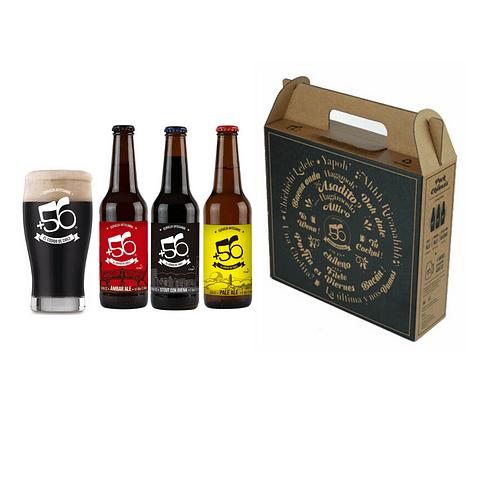 Pack de regalo cervezas artesanales