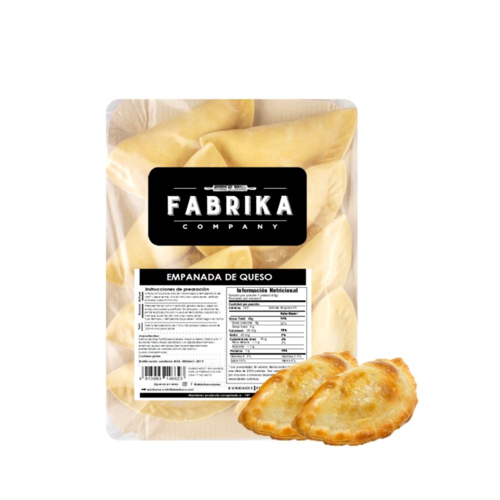 Empanadas de queso Bandeja de 480 gramos netos