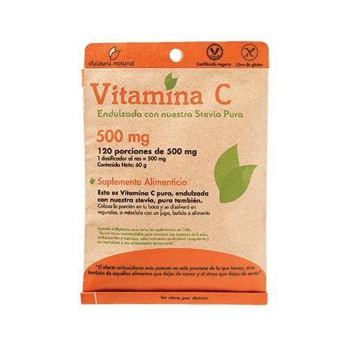 Vitamina c en polvo
