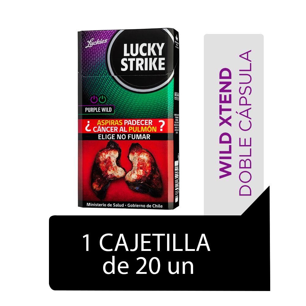 Cigarrillos Purple Wild 20 un