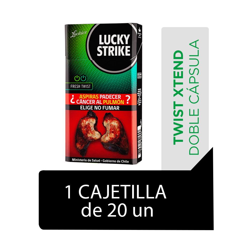 Cigarrillos Fresh Twist 20 un