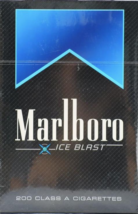 Cigarrillos ice blast