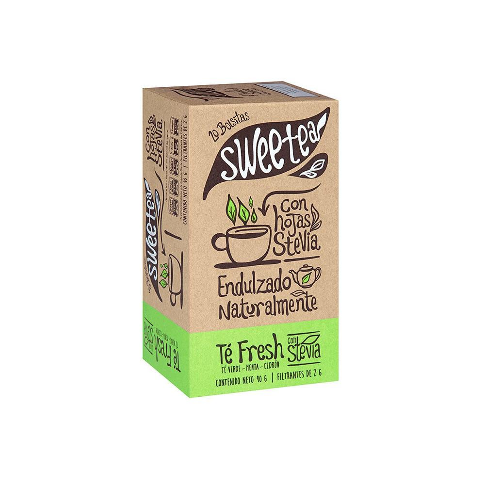 Té fresh con stevia