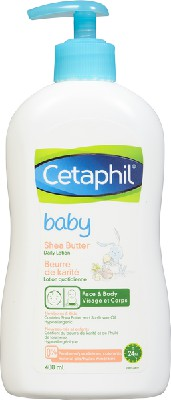 Baby lotion shea butter