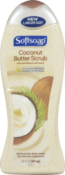 Bodywash coconut butter scrub