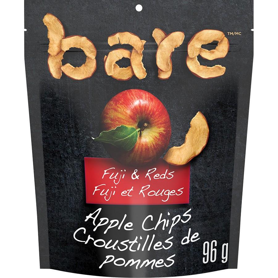 Fuji & reds apple chips