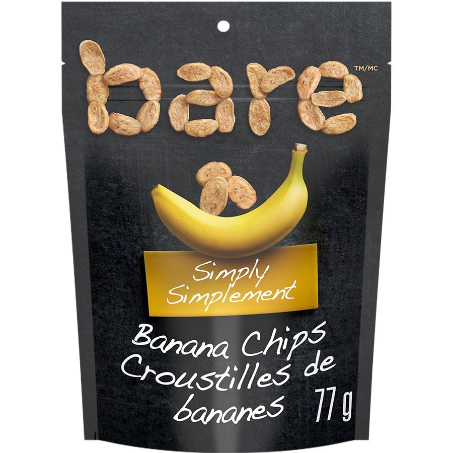 Simply banana snacks