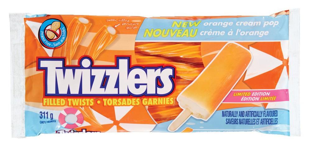Twizzlers Orange Creme Pop