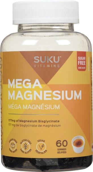 Mega magnesium gummies 177 mg