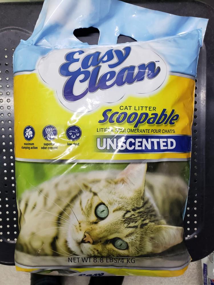 Arena para gatos easy clean Bolsa 9 kilos
