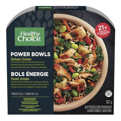 Frozen Chicken and Shiitake Mushroom Bowl, Power Bowls