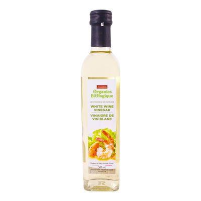Organic white wine vinegar, Organics
