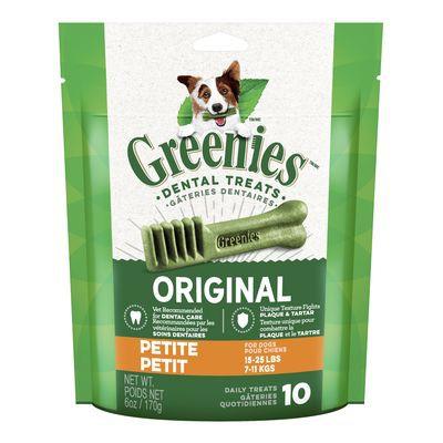 Original Daily Dental Treats for Dogs 15-25 lbs 170 g