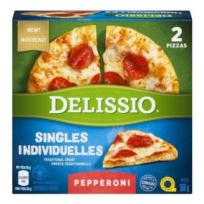 Frozen Pepperoni Pizza, Singles