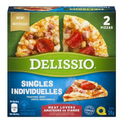 Frozen Meat Lovers Pizza, Singles