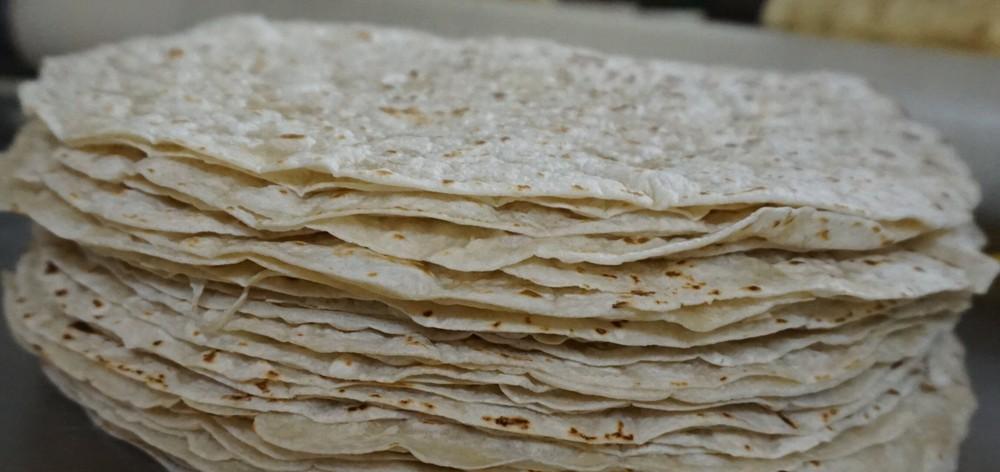 """Tortillas de trigo - 7"""" (17.5cm.) 12 Unidades por bolsa"""