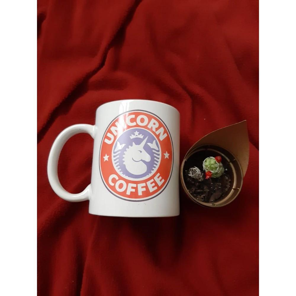 Caneca Meme Unicorn Coffee 300ml