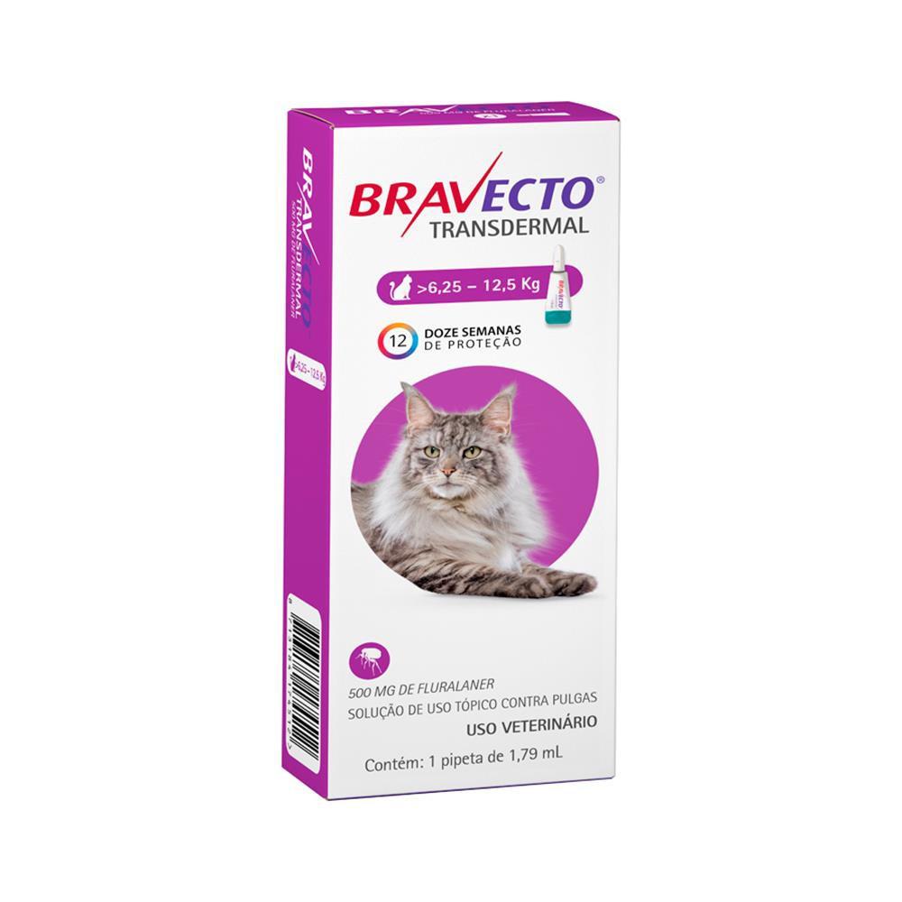 Antipulgas transdermal para gatos 6,25 a 12,5kg 1,79ml