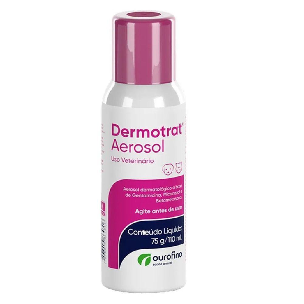 Anti-inflamatório dermotrat aerosol 75g