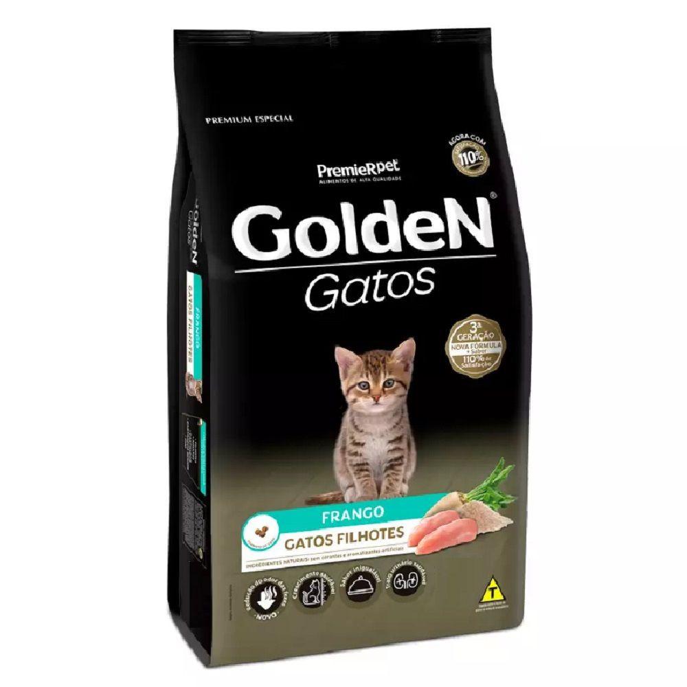 Ração para gatos filhotes frango 3kg