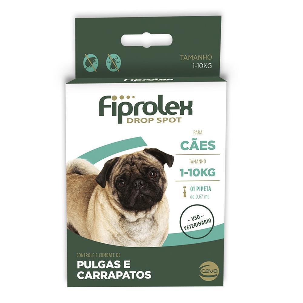 Fiprolex drop spot para cães 0,67ml