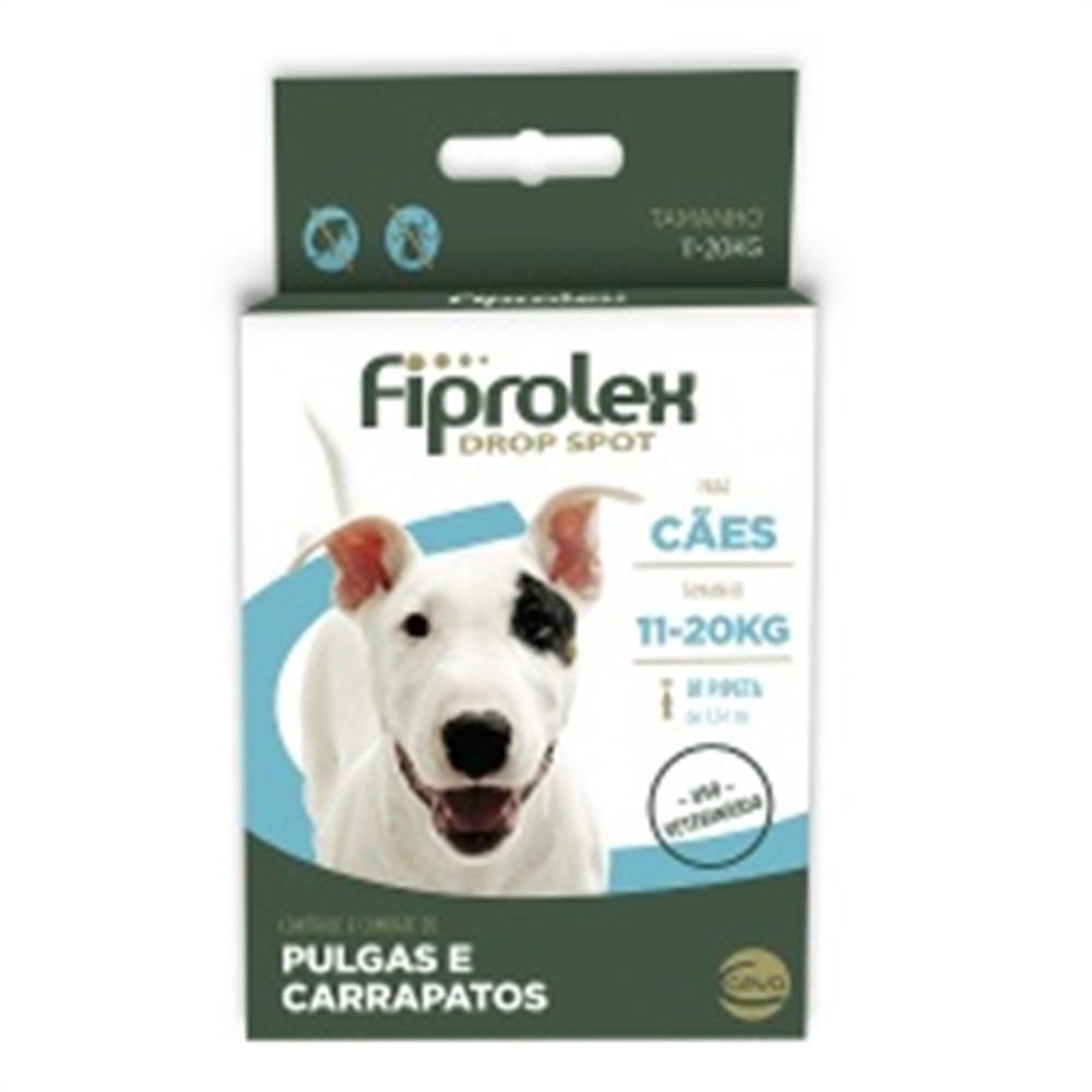 Fiprolex drop spot para cãe 1,34ml
