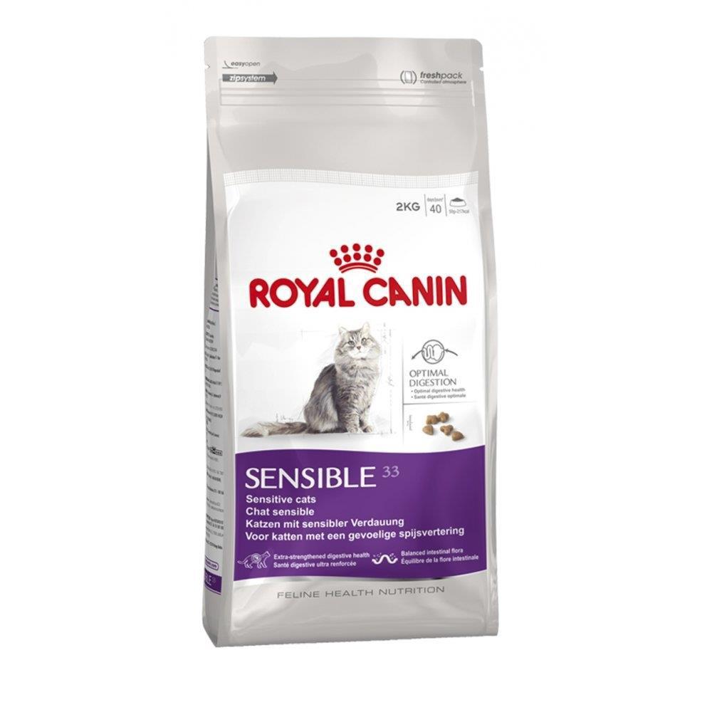 Ração para gatos Sensible 1,5kg