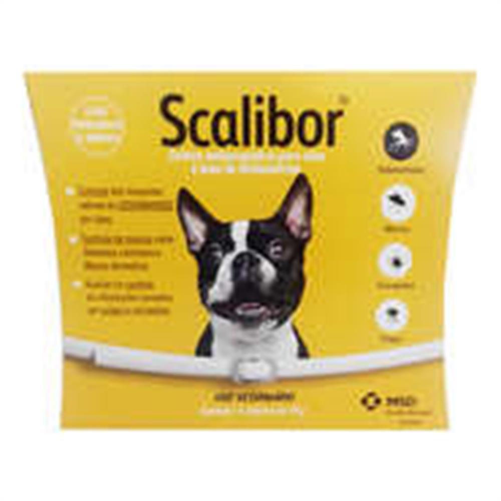 Coleira anti parasitas scalibor para cães 48cm