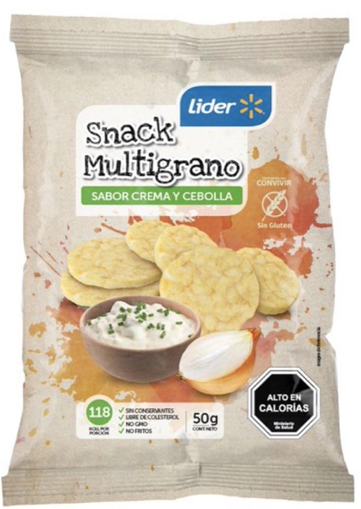 Snack galletas multigrano
