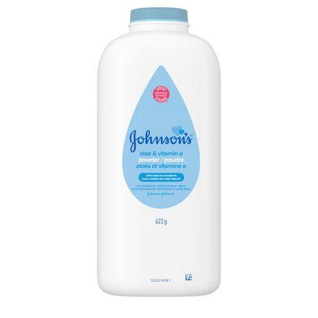 Johnson's Baby Powder with Aloe Vera & Vitamin E 623g