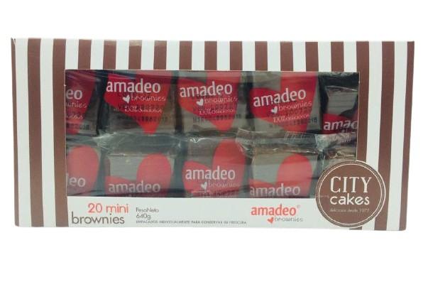 Caja de mini brownies Caja 640 g