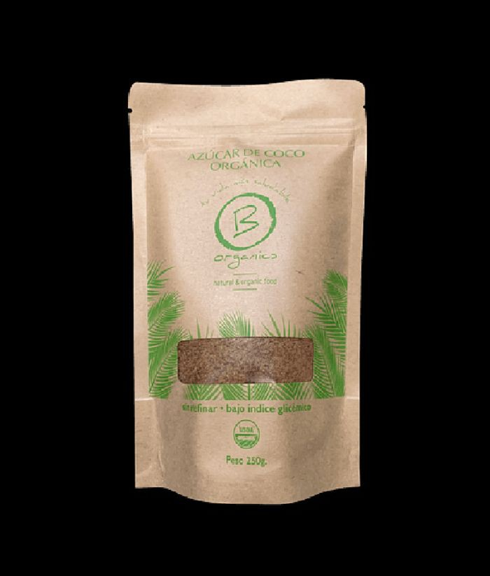 Azúcar de coco orgánica Bolsa 250grs