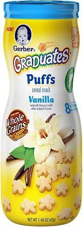 Cereal puffs vainilla etapa 3