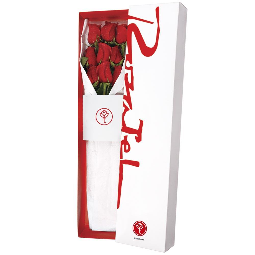 Caja clasica 9 rosas