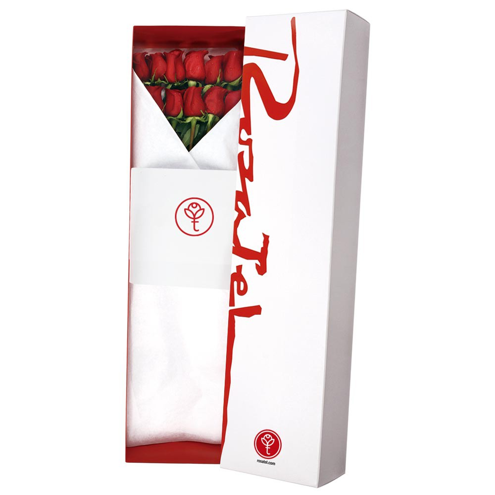 Caja clásica 24 rosas