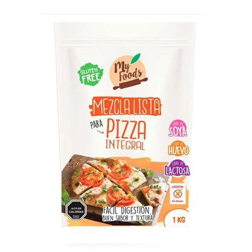 Mezcla lista pizza integral