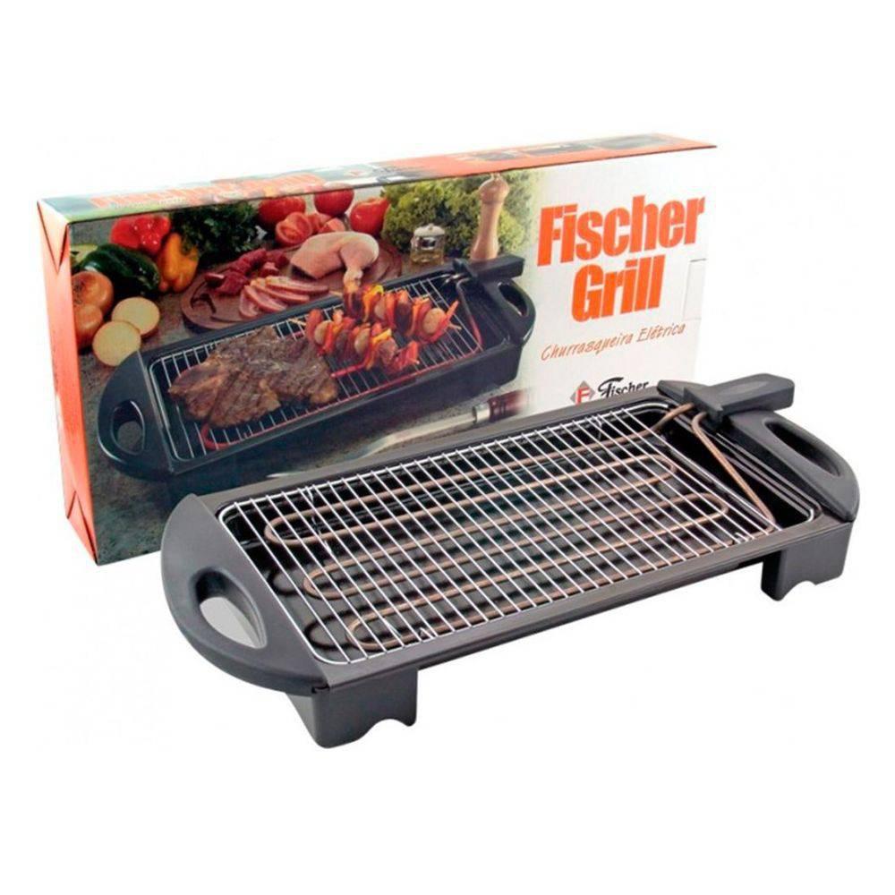 Churrasqueira elétrica fisher grill