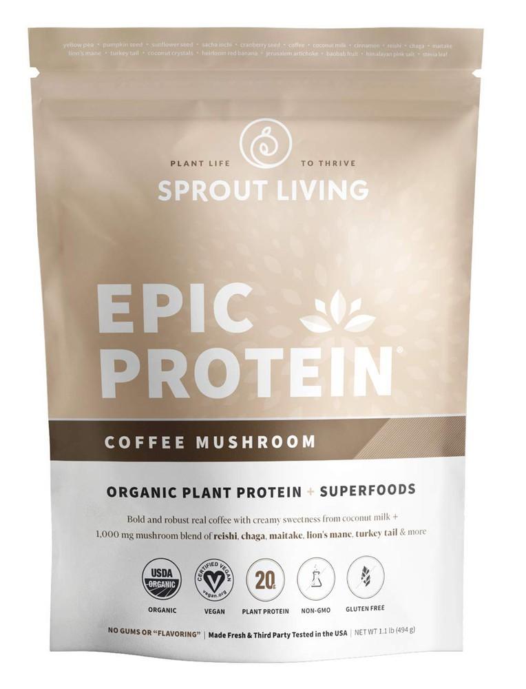 Epic protein coffee mushroom 494 gramos