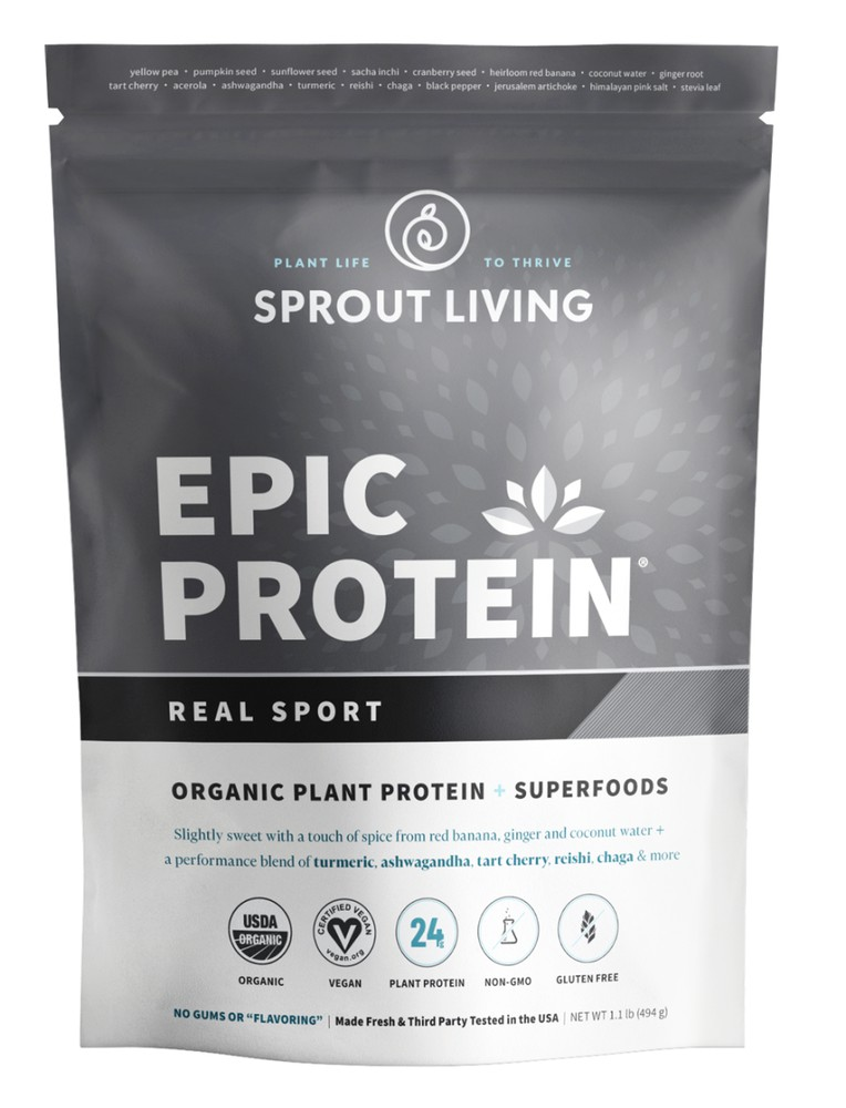 Epic protein real sport 494 gramos