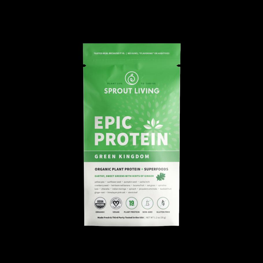 Epic protein green kingdom 35 gramos